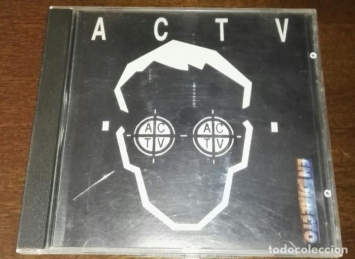 ACTV EN DIRECTO CD CONTRASEÑA RECORDS (Música - CD's Techno)