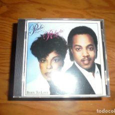 CDs de Música: PEABO BRYSON & ROBERTA FLACK. BORN TO LOVE. CAPITOL, 1983. CD. IMPECABLE (#). Lote 164680170
