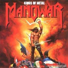 CDs de Música: MANOWAR - KINGS OF METAL - CD . Lote 164692302