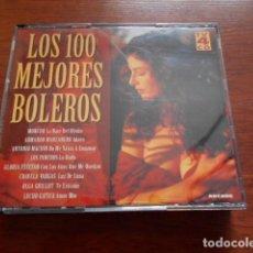 CDs de Música: LOS 100 MEJORES BOLEROS-4 CD´S. Lote 164717930