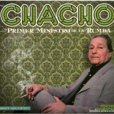 CDs de Música: CHACHO - PRIMER MINISTRO DE LA RUMBA - CD SPAIN 2011 - SANT GAUDENCI TCD058 - SEALED!. Lote 164723922