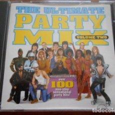 CDs de Música: CD THE ULTIMATE PARTY MIX VOL.2. Lote 164727090