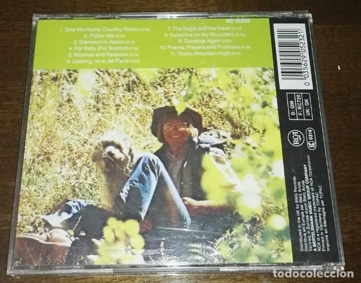 CDs de Música: JOHN DENVER GREATEST HITS RCA 11 TEMAS - Foto 2 - 164737650