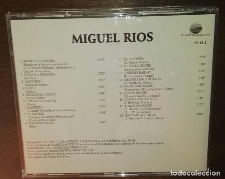 CDs de Música: Miguel rios exitos 18 temas divucsa - Foto 2 - 164738570