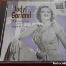 CDs de Música: CD JUDY GARLAND CLASSIC SONGS FROM THE STAGE O SCREEN. Lote 164740406