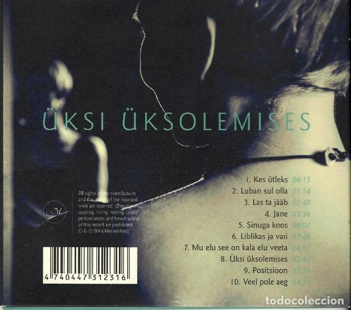 CDs de Música: MERIKE SUSI. ÜKS UKSI UKSOLEMISES. BUEN ESTADO. LETRAS CANCIONES INTERIOR. Ver ficha - Foto 2 - 164756270