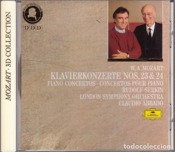 CDs de Música: Mozart - KLAVIERKONZERTE NOS. 23 & 24 - Serkin / Abbado - CD 3D Collection - Foto 1 - 164804834