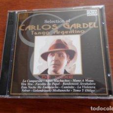 CDs de Música: 2 CD SELECTION OF CARLOS GARDEL-TANGO ARGENTINO. Lote 164841006