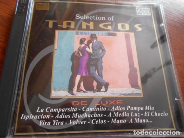 2 CD SELECTION OF TANGOS (Música - CD's Latina)