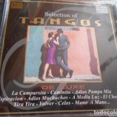 CDs de Música: 2 CD SELECTION OF TANGOS. Lote 164841374