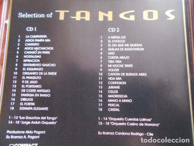 CDs de Música: 2 CD SELECTION OF TANGOS - Foto 2 - 164841374