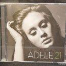 CDs de Música: ADELE - 21 - CD. Lote 164853550