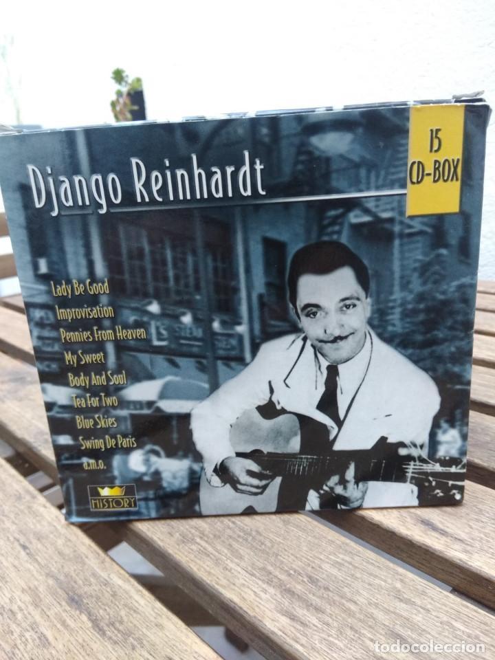 DJANGO REINHARDT : 15 CD - BOX ( COMPLETISIMA CAJA CON 15 CD'S / 300 TEMAS JAZZ SWING ) (Música - CD's Jazz, Blues, Soul y Gospel)
