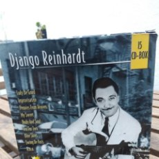 CDs de Música: DJANGO REINHARDT : 15 CD - BOX ( COMPLETISIMA CAJA CON 15 CD'S / 300 TEMAS JAZZ SWING ) . Lote 164860070