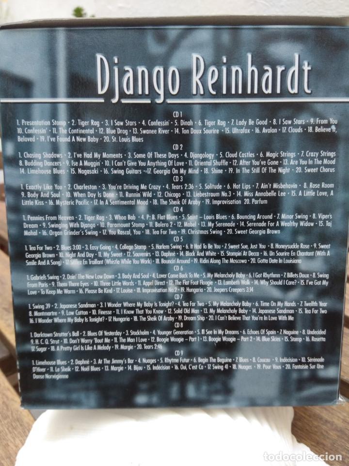 CDs de Música: DJANGO REINHARDT : 15 CD - BOX ( COMPLETISIMA CAJA CON 15 CDS / 300 TEMAS JAZZ SWING ) - Foto 3 - 164860070