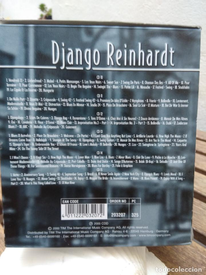 CDs de Música: DJANGO REINHARDT : 15 CD - BOX ( COMPLETISIMA CAJA CON 15 CDS / 300 TEMAS JAZZ SWING ) - Foto 4 - 164860070