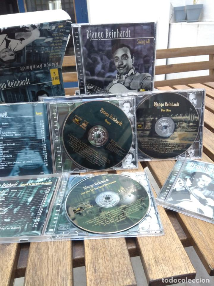 CDs de Música: DJANGO REINHARDT : 15 CD - BOX ( COMPLETISIMA CAJA CON 15 CDS / 300 TEMAS JAZZ SWING ) - Foto 5 - 164860070