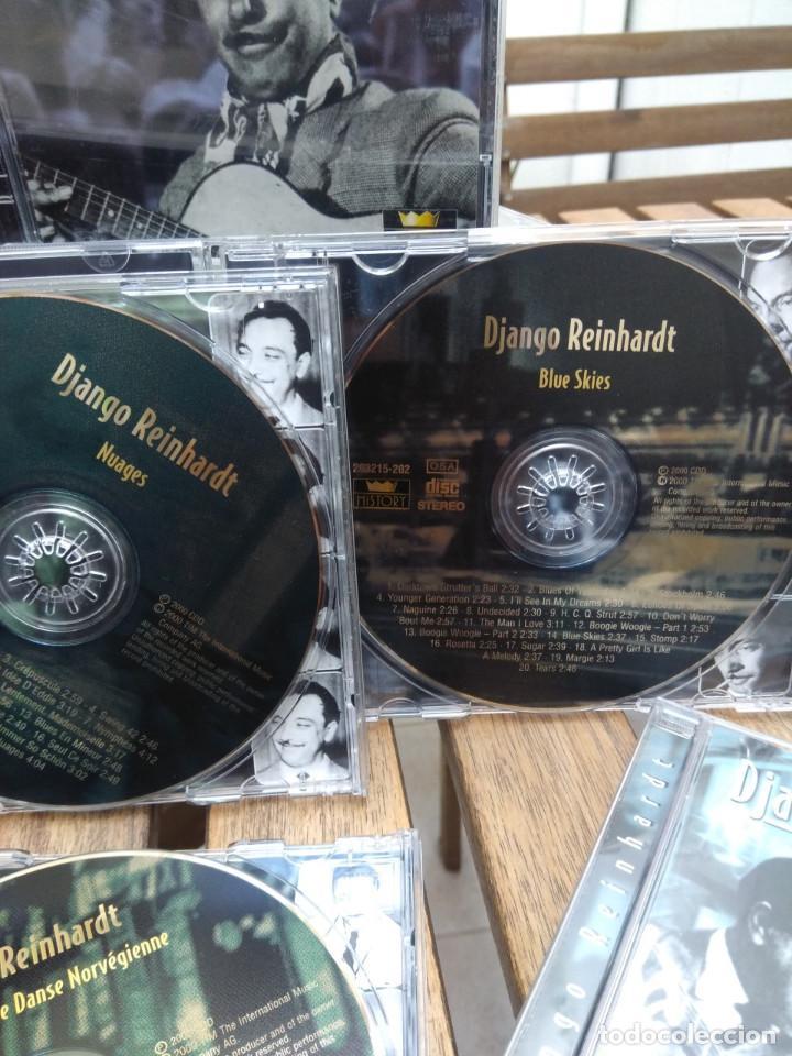 CDs de Música: DJANGO REINHARDT : 15 CD - BOX ( COMPLETISIMA CAJA CON 15 CDS / 300 TEMAS JAZZ SWING ) - Foto 6 - 164860070