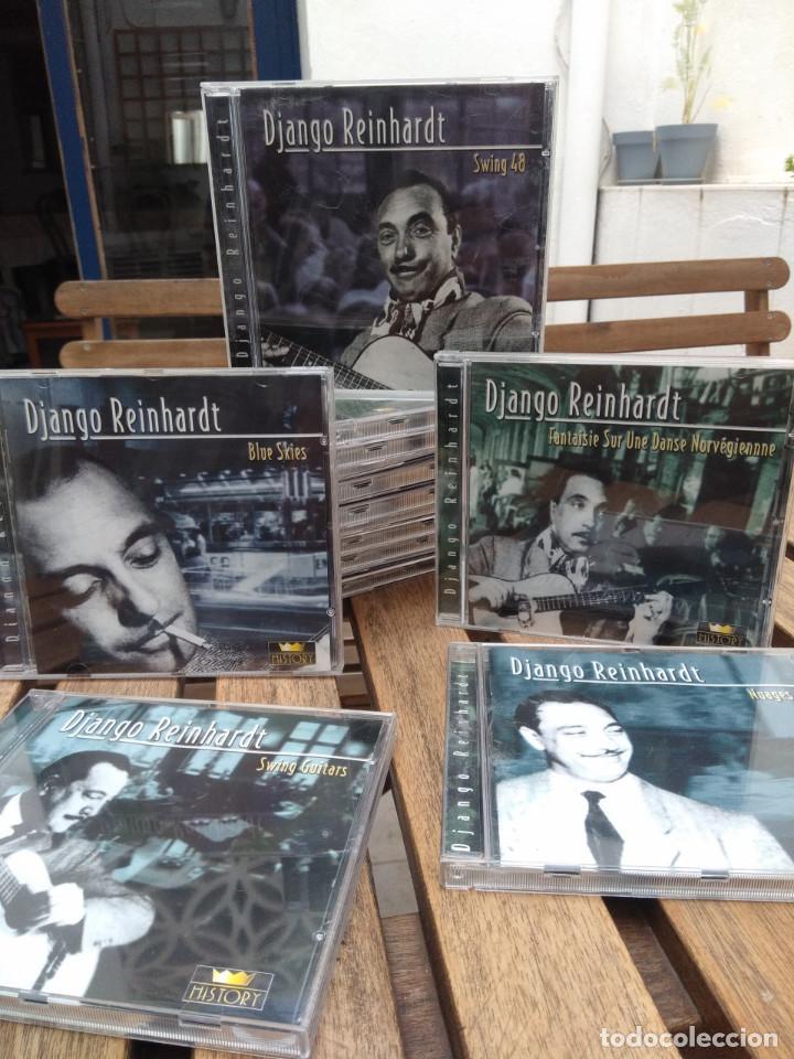 CDs de Música: DJANGO REINHARDT : 15 CD - BOX ( COMPLETISIMA CAJA CON 15 CDS / 300 TEMAS JAZZ SWING ) - Foto 7 - 164860070