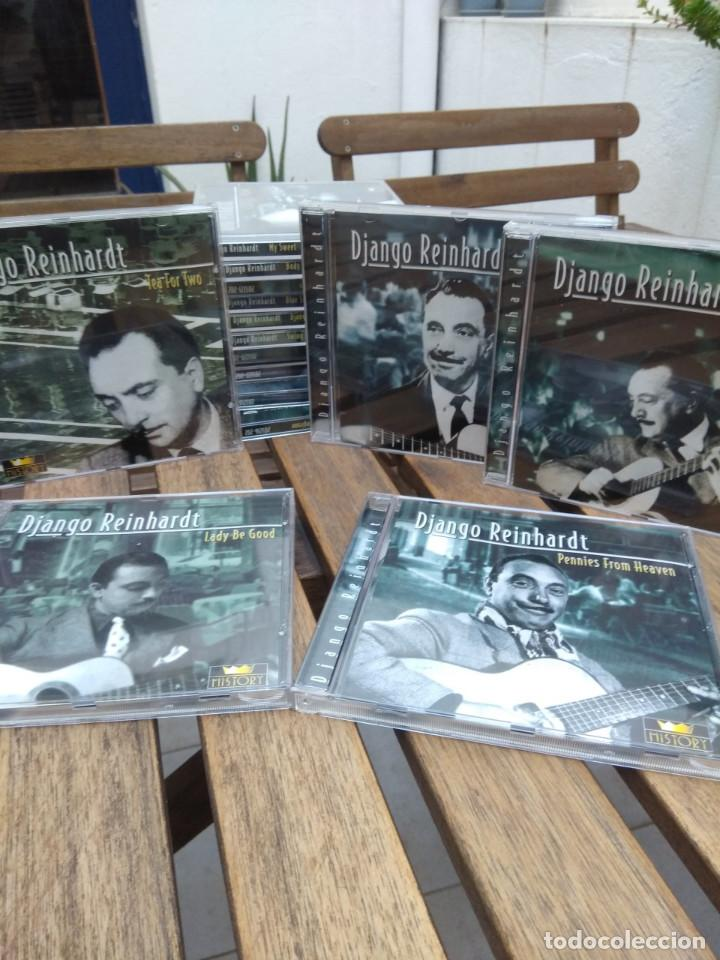 CDs de Música: DJANGO REINHARDT : 15 CD - BOX ( COMPLETISIMA CAJA CON 15 CDS / 300 TEMAS JAZZ SWING ) - Foto 8 - 164860070