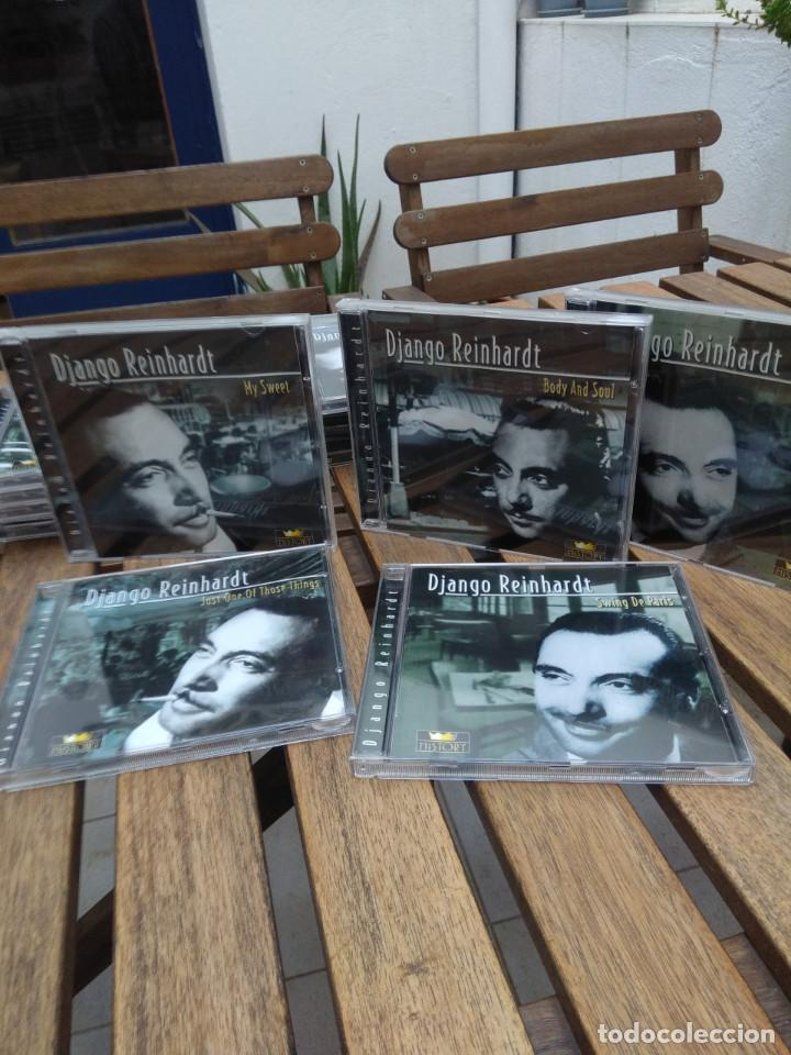 CDs de Música: DJANGO REINHARDT : 15 CD - BOX ( COMPLETISIMA CAJA CON 15 CDS / 300 TEMAS JAZZ SWING ) - Foto 9 - 164860070