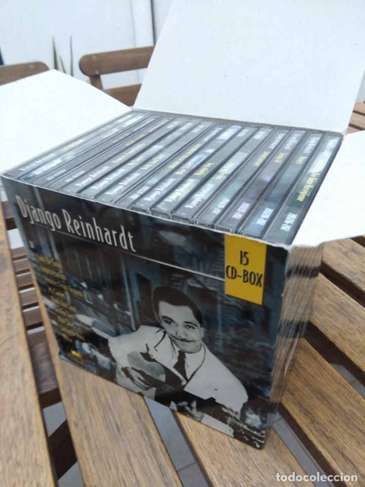 CDs de Música: DJANGO REINHARDT : 15 CD - BOX ( COMPLETISIMA CAJA CON 15 CDS / 300 TEMAS JAZZ SWING ) - Foto 10 - 164860070