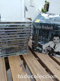 CDs de Música: DJANGO REINHARDT : 15 CD - BOX ( COMPLETISIMA CAJA CON 15 CDS / 300 TEMAS JAZZ SWING ) - Foto 11 - 164860070