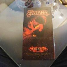CDs de Música: SANTANA - TRILOGÍA - BOX SET CON 3 CDS + LIBRETO. EDITADO EN 2005. Lote 164860866