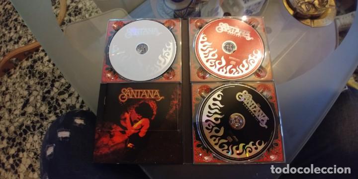CDs de Música: Santana - Trilogía - Box Set con 3 CDs + Libreto. Editado en 2005 - Foto 2 - 164860866