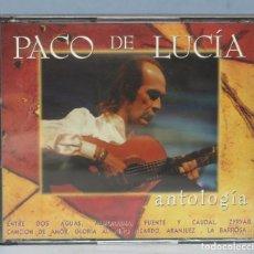 CDs de Música: DOBLE CD. PACO DE LUCIA. ANTOLOGIA. Lote 164866150