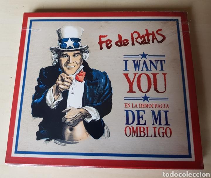 FE DE RATAS - EN LA DEMOCRACIA DE MI OMBLIGO - CD, ESPAÑA. 2006. (Música - CD's Hip hop)