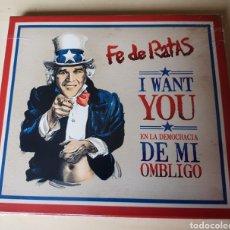 CDs de Música: FE DE RATAS - EN LA DEMOCRACIA DE MI OMBLIGO - CD, ESPAÑA. 2006.. Lote 164876541