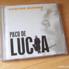 CDs de Música: PACO DE LUCIA. COSITAS BUENAS (2004). Lote 164888090