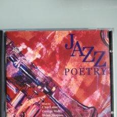 CDs de Música: JAZZ POETRY - VARIOUS. Lote 164888218