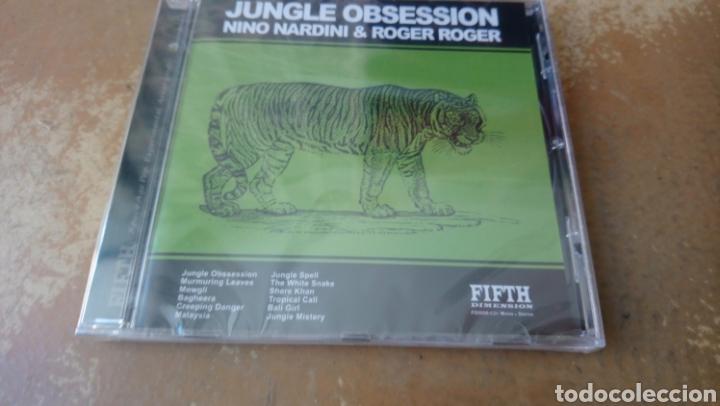 NINO NARDINI–JUNGLE OBSSESSION -CD PRECINTADO. JAZZ - LOUNGE - EASY LISTENING. 1971. (Música - CD's Jazz, Blues, Soul y Gospel)