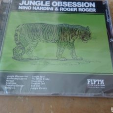 CDs de Música: NINO NARDINI ‎- JUNGLE OBSSESSION -CD PRECINTADO. JAZZ - LOUNGE - EASY LISTENING. 1971. Lote 200265491