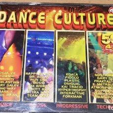 CD de Música: DANCE CULTURE / 4 CD-BOX - DIVUCSA-1998 / 50 TEMAS / CDS DE LUJO.. Lote 164890722