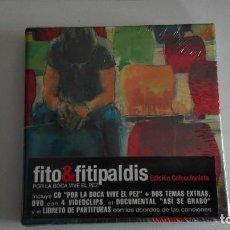CDs de Música: FITO & FITIPALDIS POR LA BOCA VIVE EL PEZ EDICION COLECCIONISTA NUEVO PRECINTADO. Lote 164894166
