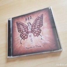 CDs de Música: P.O.D. - PAYABLE ON DEATH - CD ALBUM + DVD - ATLANTIC - 2003. Lote 164946734