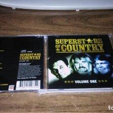 CDs de Música: SUPERSTARS OF COUNTRY VOL. 1 (2CD) GLEN CAMPBELL, JOHNN Y CASH, W. NELSON Y OTROS. Lote 164954146