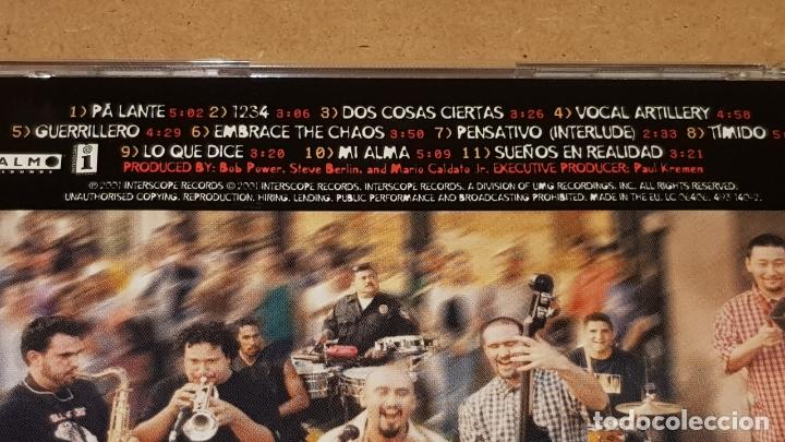 CDs de Música: OZOMATLI / EMBRACE THE CHAOS / CD - INTERSCOPE RECORDS-2001 / 11 TEMAS / DE LUJO. - Foto 4 - 164961318