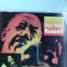 CDs de Música: PEE WEE RUSSELL - WITH ALEX WELSH AND HIS BAND. Lote 164965482