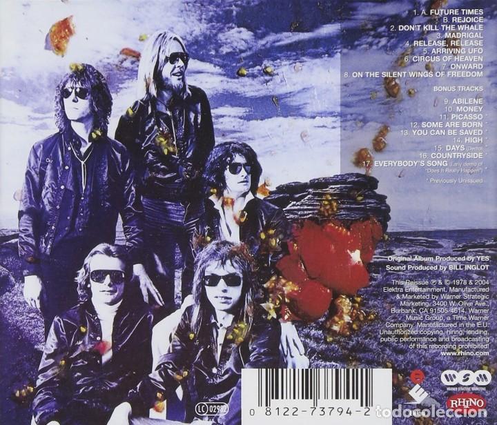 CDs de Música: YES TORMATO CD . EDICIÓN CON 9 TEMAS INÉDITOS - Foto 2 - 164972862
