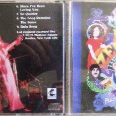 CDs de Música: LED ZEPPELIN: ELECTRIC MAGIC. GRABADO EN DIRECTO EL 29 DE JULIO DE 1973 EN EL MADISON SQUARE GARDEN. Lote 165013662