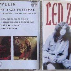 CDs de Música: LED ZEPPELIN: LIVE AT THE NEWPORT JAZZ FESTIVAL. GRABADO EN DIRECTO EL 6 DE JULIO DE 1969 . Lote 165015242