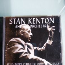 CDs de Música: STAN KENTON AN HIS ORCHESTRA - LIVE AT THE SOLDIERS CLUB, FORT ORD, CALIFORNIA 1955 PART I. Lote 165025710
