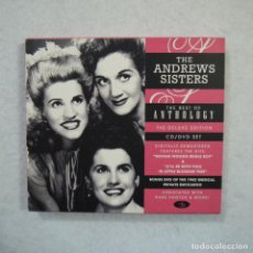 CDs de Música: THE ANDREWS SISTERS - THE BEST OF ANTOLOGY - CD+DVD . Lote 165062166