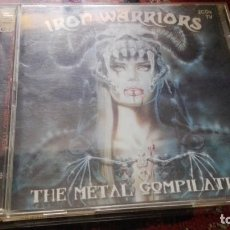 CDs de Música: IRON WARRIORS, THE METAL COMPILATION. SOLO 2º CD VARIOS GRUPOS, 2002. Lote 165098362