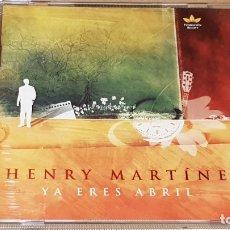 CDs de Música: HENRY MARTÍNEZ / YA ERES ABRIL / CD - FUNDACION BIGOTT-VENEZUELA / 13 TEMAS / LUJO.. Lote 165107802