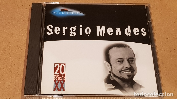 SERGIO MENDES / MILLENIUM - 20 MUSICAS DO SÉCULO XX / CD - MERCURY-BRASIL / LUJO. (Música - CD's Latina)